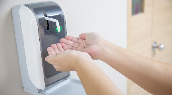 Haut-, Händedesinfektion