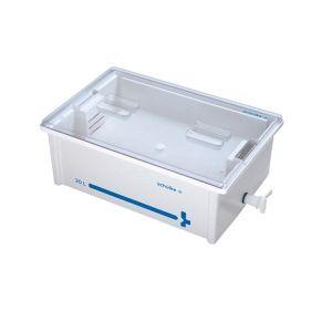 Wannen-System 30 Liter mit Auslaufhahn Instrumentenwanne