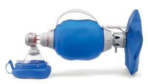 Ambu Mark IV mit EMP, Silikon-Maske Größe 5 Beatmungsbeutel mit Einmembran-Patientenventil