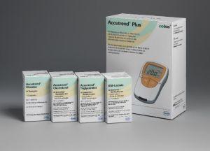 Accutrend Plus Schnellteststreifen System zur schnellen und einfachen Bestimmung von kardiovaskulären Risikofaktoren