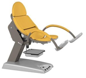Arco M Untersuchungsstuhl Modell 114.6600.1 goldgelb Proktologischer Untersuchungstuhl ohne Bein- und Fußstütze