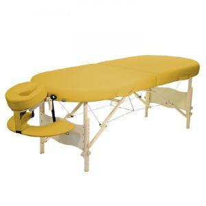 Classic Kahuna Set Liege 195x75 cm Höhe 61-86,5 cm siena mobile Massageliege in Hawaii-Form