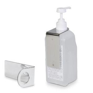 DESCOFLEX Wandhalter WH 500 ml / 1 l Spenderflaschen Variabler Flaschenhalter