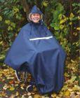 Poncho Nylon mit Fleece für Erwachsene Regencape
