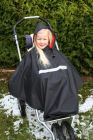 Poncho Nylon mit Fleece für Kinder Regencape