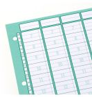 Ringbucheinlagen A4 für Tagesplaner 5/10 Spalten 20-Min-Takt Tagesplanung der Praxistermine