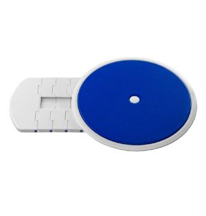 Dreh-und Übersetzhilfe Ø 32 cm mit Bezug blau