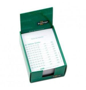 Terminzettel DIN A7 selbstdurchschreibend 250 Blatt Zur Erinnerung an Ihren Termin