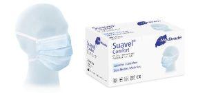 OP-Maske Suavel Comfort blau 50 Stück Bewährte OP-Maske zum Binden
